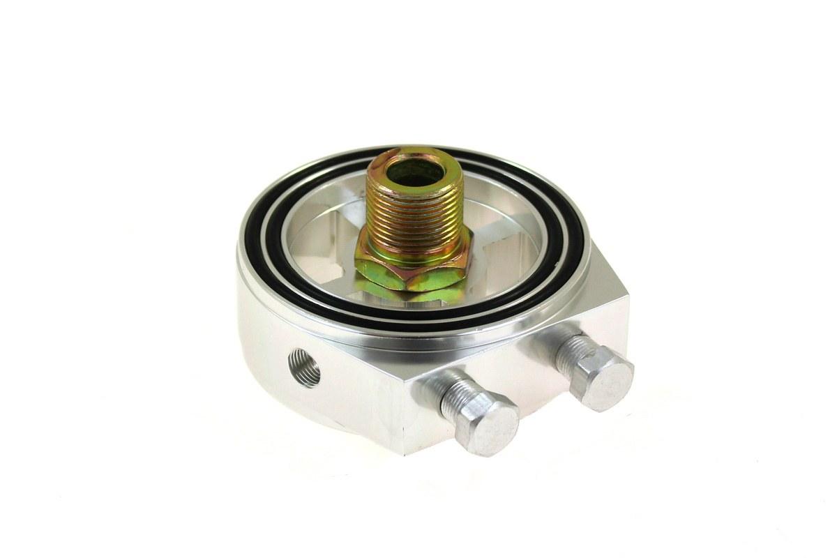 Adapter filtra oleju TurboWorks Silver - GRUBYGARAGE - Sklep Tuningowy